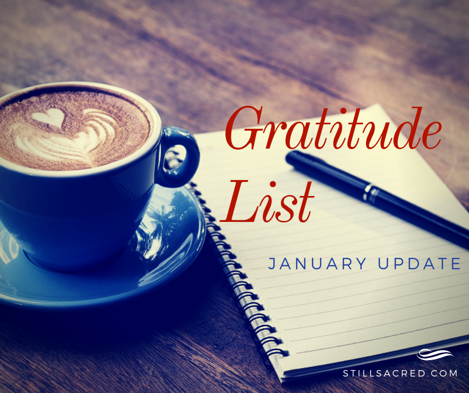 Gratitude List Check-in